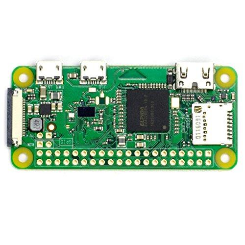 Vilros Raspberry Pi Zero W Basic Starter Kit- Clear Case Edition-Includes Pi Zero W -Power Supply & Premium Clear Case by Vilros (Image #1)
