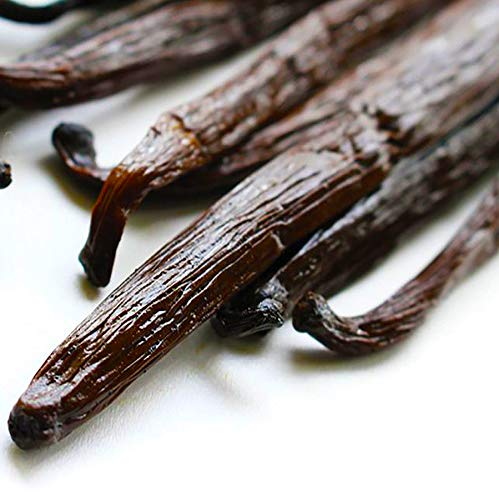 Vanilla Beans Grade A for Extract, Baking and Cooking. size 5