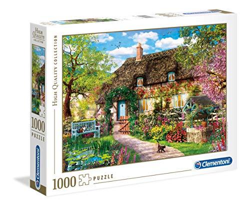 Clementoni- The Old Cottage Puzzle, 1000 Piezas, Multicolor (39520)