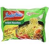Indomie Instant Noodles Soup Rasa Soto Mie (Beef & Lime Flavor) Halal - 2.65 Oz (Pack of 10) by Indomie