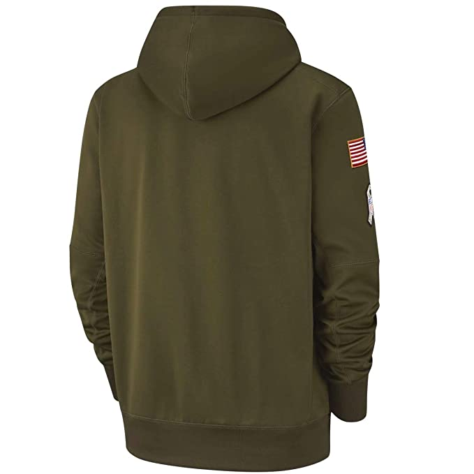 4a7c7e59fab Amazon.com   Cleveland Browns 2018 NFL Salute to Service Men s STS Therma  Hoody   Sports   Outdoors