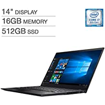 Lenovo X1 Carbon 6th Generation Ultrabook: Core i7-8550U, 16GB RAM, 512GB SSD, 14inch Full HD Display, Backlit Keyboard