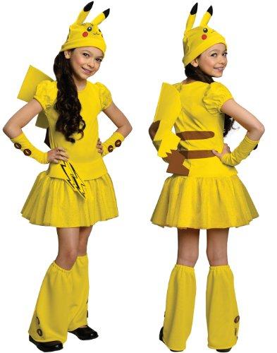 Pokemon Child's Pikachu Costume Dress,