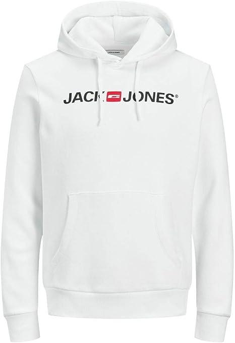TALLA M. Jack & Jones Jcoart Sweat Hood Sudadera con Capucha para Hombre