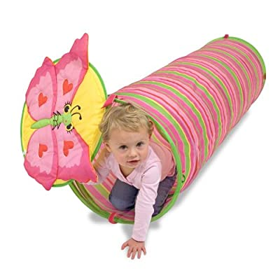 Melissa & Doug Sunny Patch Bella Butterfly Crawl-Through Tunnel (almost 5 feet long): Melissa & Doug: Toys & Games [5Bkhe1607933]