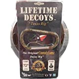 Lifetime Decoys 72'' 6 oz Coated Cable Decoy Rig w/Carabiner