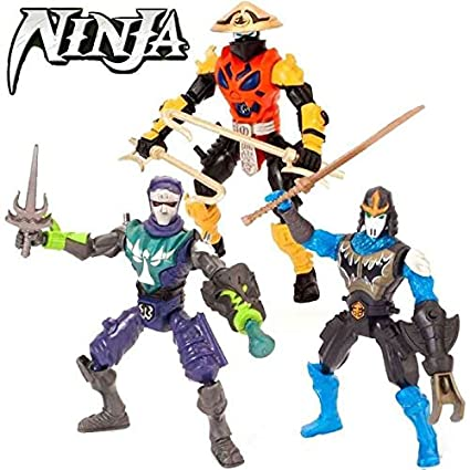Jugueteriaonline 4893808850634 - Figura Ninja playset 3 ...