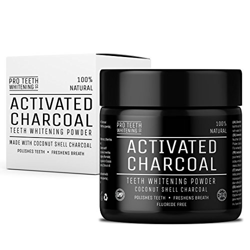 Activated Charcoal Natural Teeth Whitening Powder by Pro Teeth Whitening Co Grey Charcoal (non abrasive and proven safe for enamel) From Coconut Shells | Manufactured in England by Pro Teeth Whitening Co (Image #6)