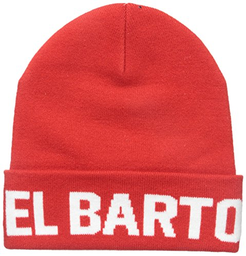 NEFF Men's El Barto Beanie, Red, One Size (Neff Beanie Young Men)