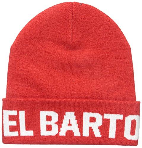 NEFF Men's EL Barto Beanie, Red, One Size