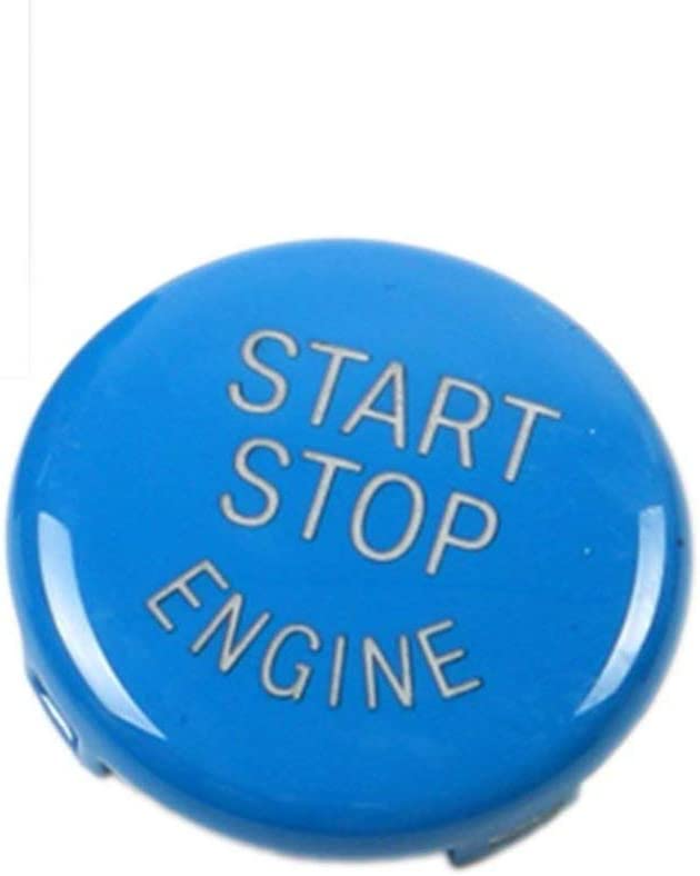 XZANTE Interruptor de Encendido de Bot/ón de Parada para BMW 1 2 3 4 5 6 7 Serie X1 X 3 X4 X 5 X6 F20 F21 F30 F31 F10 F11 F01 F48 F25 F15 F16 Tapa de Bot/ón de Reemplazo Tapa Rojo