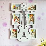 Hongyu 6 multi-frame photo wall combination photo frame guitar splicing Plastic wedding European 46 66cm