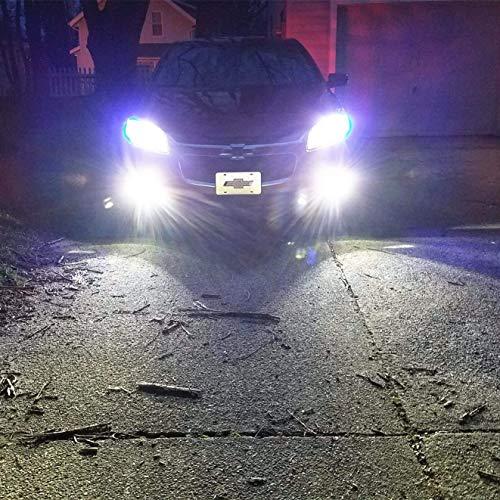 Alla Lighting 2504 PSX24W LED Fog Light Bulbs Super Bright PSX24W LED Bulb High Power 50W 12V LED PSX24W Bulb for 12276 2504 PSX24W Fog Light Bulbs Replacement, 6000K Xenon White (Set of 2) by Alla Lighting (Image #3)