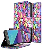 zte prelude cricket - ZTE Maven 3 Case, ZTE Overture 3 Case, ZTE Prelude Plus Case(4G LTE), NageBee [Kickstand Feature] Premium PU Leather Flip Fold Wallet Case with [ID&Credit Card Slot] (Purple)