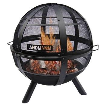 Amazon.com : Landmann USA 28925 Ball of Fire Outdoor Fireplace ...
