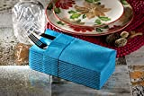 Dinner Napkins Cloth Like with Built-in Flatware