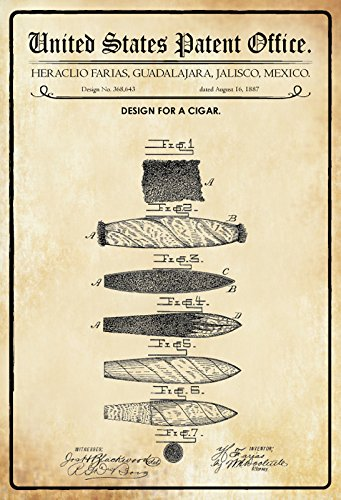 Compra ComCard US Patentes - Design For A Cigar - Bosquejo ...