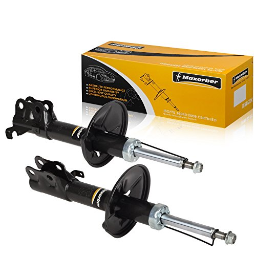 Maxorber Front Left Right Shocks Struts Absorber Compatible with Toyota Cynos Coupe 1995-1999 Shock Absorber Replacement for Toyota Starlet Paseo Convertible 96-99 Shock Set 333210 333209