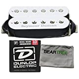 Seymour Duncan SH-4 JB Model Humbucker Pickup (White) w/Geartree Cloth and Pack