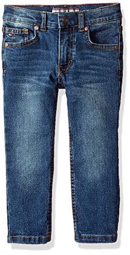 (Tommy Hilfiger Toddler Boys' Stretch Denim Jeans, Rebel Niagara, 4T)