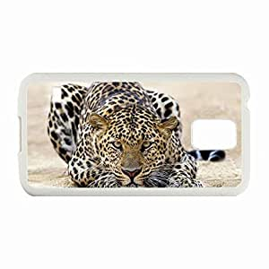 Custom Fashion Design Samsung Galaxy S5 SV Back Cover Case Personalized Customized Diy Gifts In Jag White High-end Custom