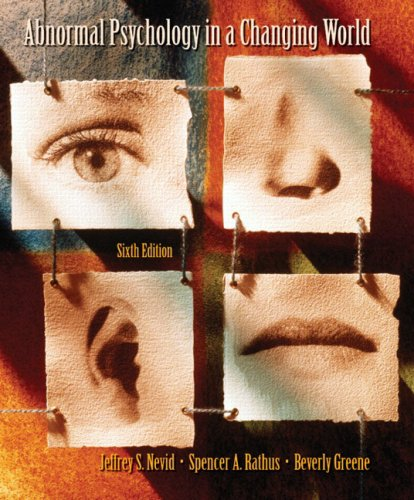 Abnormal Psychology in a Changing World -
