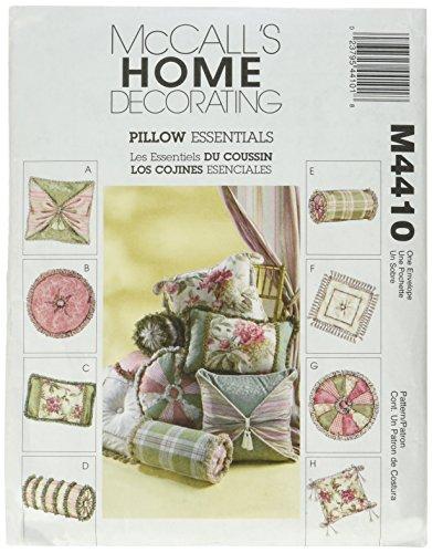 McCall's Patterns M4410 Pillow Essentials ()