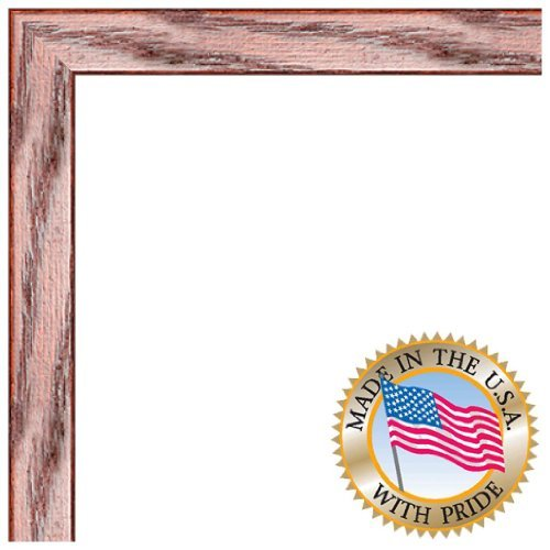 Country Oak Picture Frame (ArtToFrames 13x16 inch Cherry on Red Oak Wood Picture Frame, 2WOM0066-1343-YCHY-13x16)