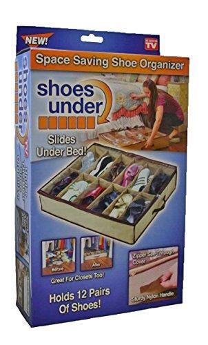 Shoes Under Space-Saving Shoe Organizer