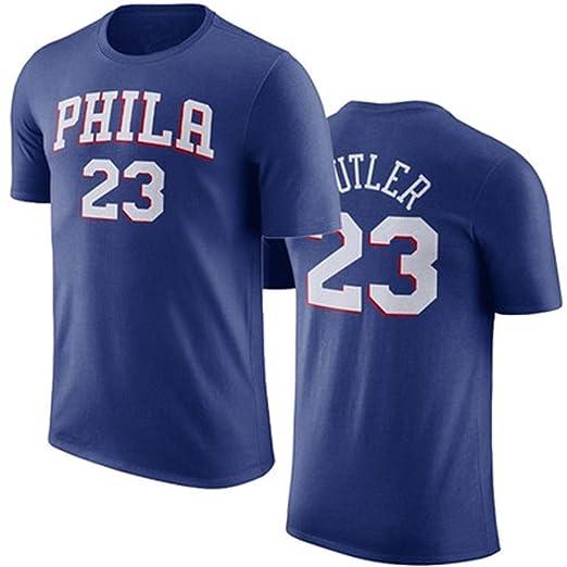 Ldwxxx Jersey De Hombre 76ers Butler No. 23 Jersey Azul Butler ...