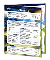 Accounting II Guide - Business Accounting Quick Reference Guide by Permacharts