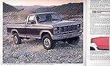 1985 Ford F150 F250 F350 Truck Brochure