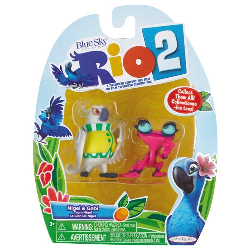 Rio 2 Movie Mini Figures Nigel & Gabi 2-pack, 2 Inch