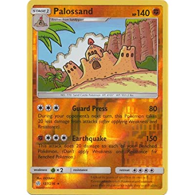 Pallosand - 127/236 - Rare - Reverse Holo - Cosmic Eclipse: Toys & Games