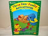 Three Bear Family Math Activities Book, Carol A Thornton, Judith K. Wells, 1569119856
