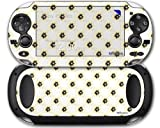 Kearas Daisies Diffuse Glow Yellow - Decal Style Skin fits Sony PS Vita