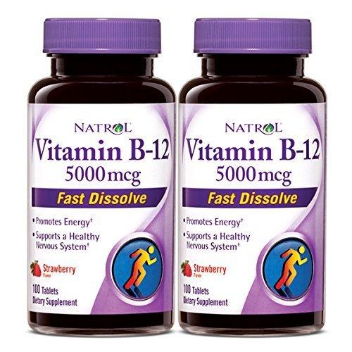 Natrol Vitamin 5000mcg Dissolve Strawberry