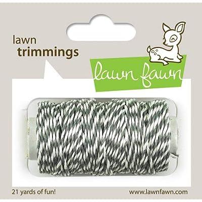 Lawn Fawn - Lawn Trimmings - Bakers Twine Spool - Mistletoe : Garden & Outdoor