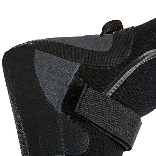 Quiksilver Booties Men Syncro 3mm Split Toe Booties Black n35gZke
