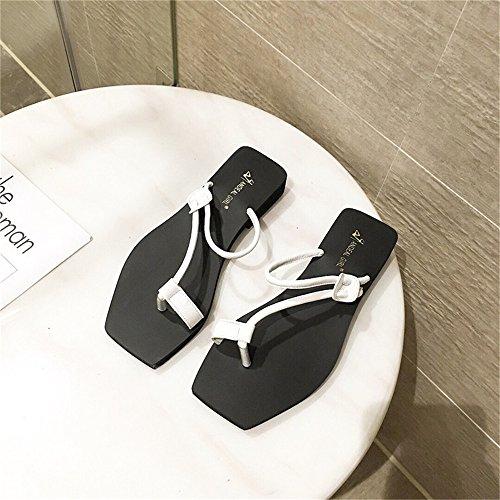 Sandalias Las Tac Mujeres de de Planas Suaves Zapatillas Inferiores FHrw7xIF