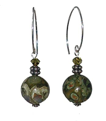 stone earrings collections green com products dailynecklace