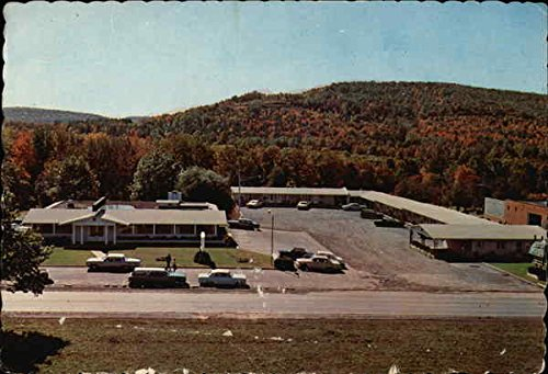 White Shamrock Hotel and Captain's Table Restaurant Clearfield, Pennsylvania Original Vintage Postcard