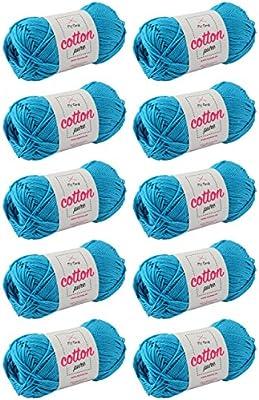 MyOma WA0MY-01-A-0125-10 Cotton Pure Ozean (Fb 0125) - Juego de 10 ...