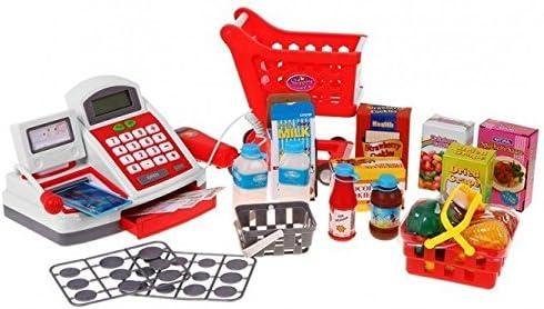 BSD Juego de Imitación Supermercado de Juguete con Caja ...