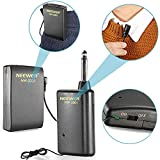 MSD NW-3301 Hands Free Lavalier Lapel Clip-on Wireless Microphone System: Transmitter + Receiver + Microphone + Batteries, Perfect for Presentation/Speech/Podcasting/Performance and More