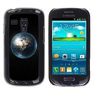 Be Good Phone Accessory // Dura Cáscara cubierta Protectora Caso Carcasa Funda de Protección para Samsung Galaxy S3 MINI NOT REGULAR! I8190 I8190N // Space Planet Galaxy Stars 29