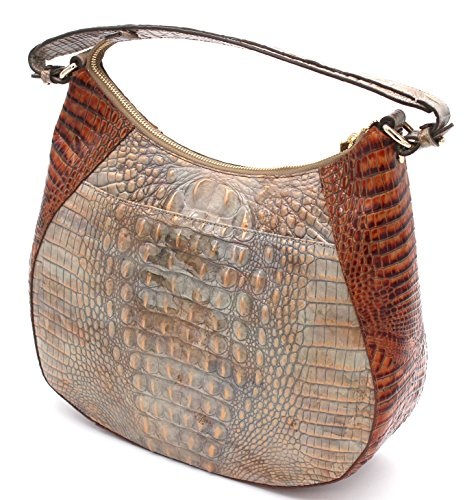 Hobo Riesling Shoulder Tri Textured Amira Brahmin Leather Embossed qxUYP0UH