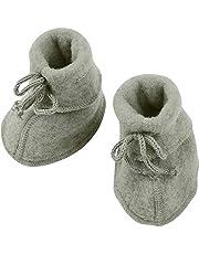 Engel 100% merino wool fleece booties baby newborn leg warmers socks 57 5582 (2, Light grey)