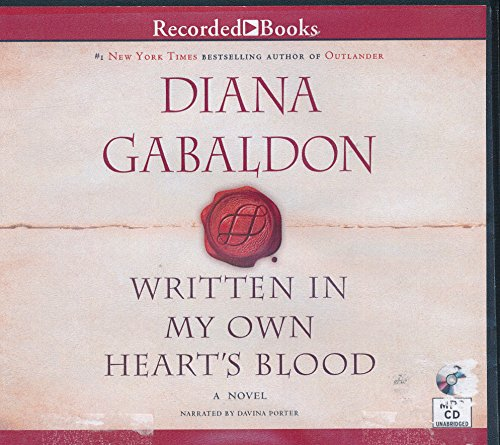 Written in My Own Blood by Diana Gabaldon Unabridged MP3 CD Audiobook