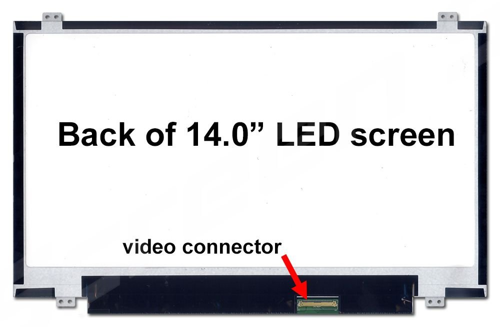 HP Probook 440 G1 New Replacement LCD Screen for Laptop LED HD Matte